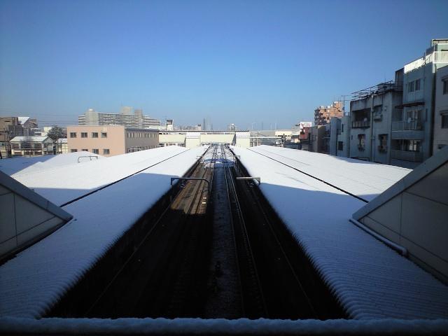 また積雪すね