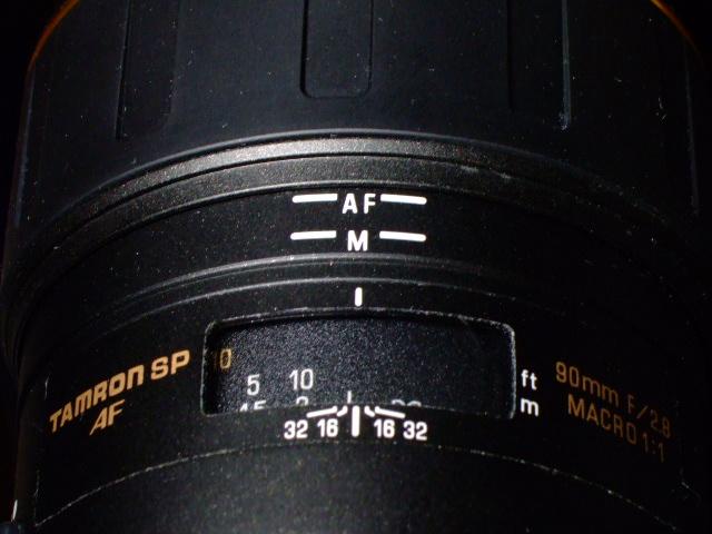 TAMRON SP AF 90mm F2.8 MACRO