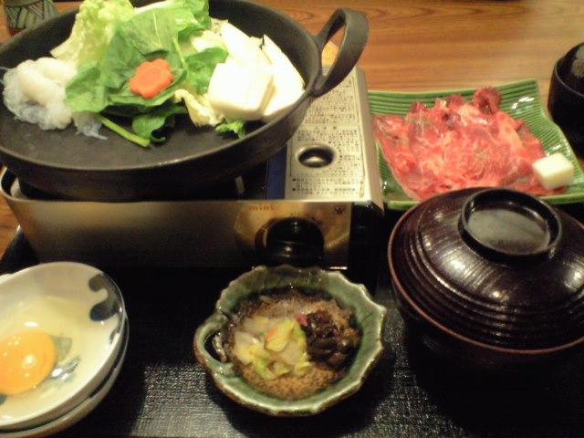 鰹たたき と すき焼き☆
