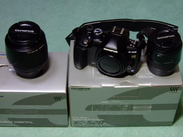 OLYMPUS E-520 レンズキット