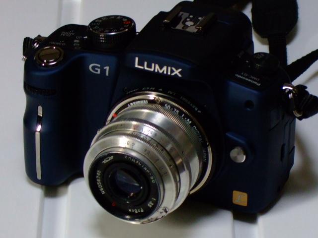 ИНДУСТАР-50 F3.5  with Panasonic DMC-G1