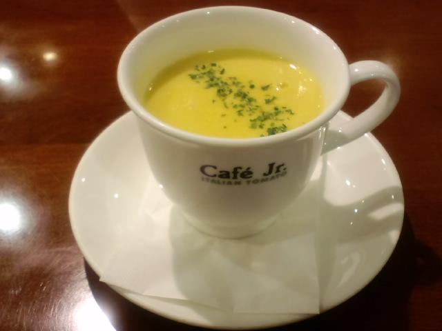 朝食コーンスープ