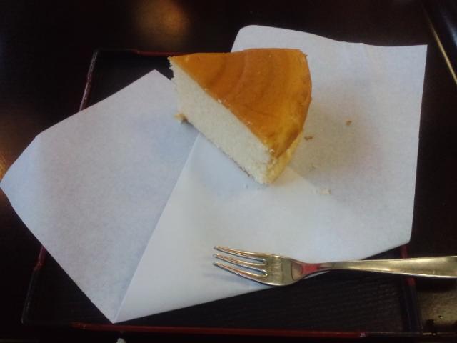 [2-6] チーズケーキと刺身ゆば☆