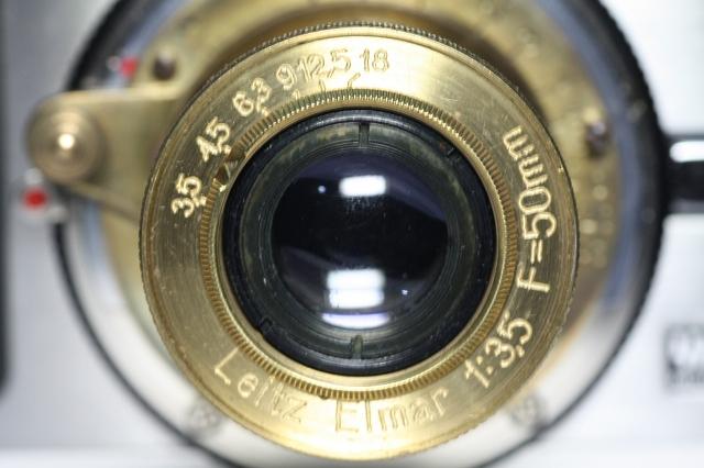 ロシアレンズ Leitz Elmar 50mm f3.5 コピー