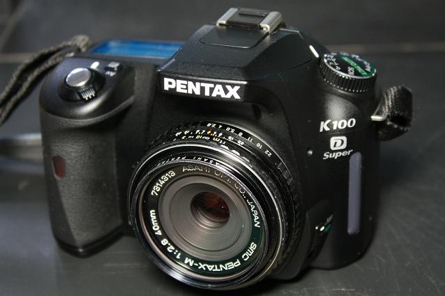 smc PENTAX-M 40mm F2.8 with K100D Super