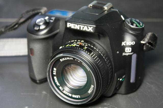 RICOH RIKENON 50mm F2.0 with K100D Super