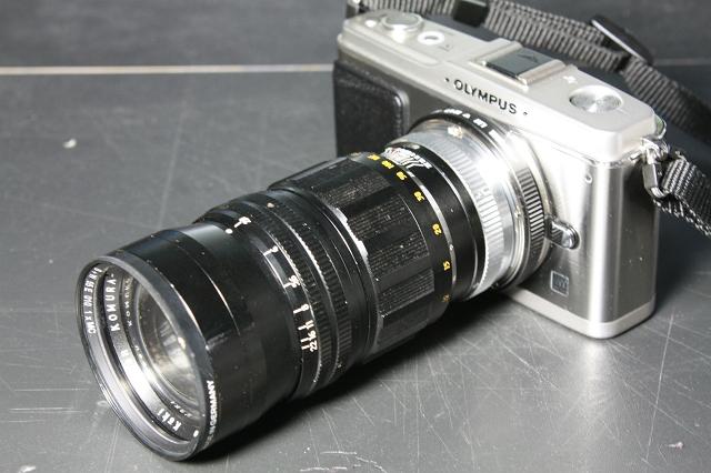 KOMURA- 135mm F2.8 with E-P1