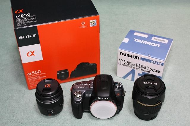 α550 with TAMRON AF18-200mm F3.5-6.3 XR Di II