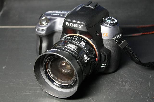 MINOLTA 35-70mm F4 with α550