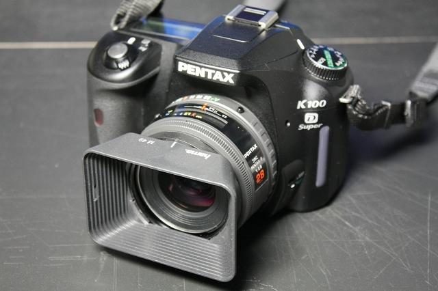 smc PENTAX-F 28mm F2.8 with K100D Super