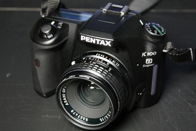 smc PENTAX 35mm F3.5 with K100D Super