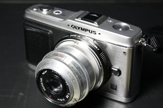 ИНДУСТАР-50 5cm F3.5 with E-P1