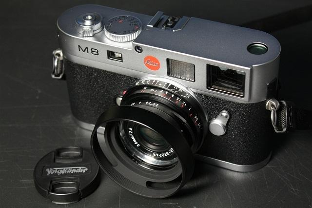 Leica M8 と、LH-4N