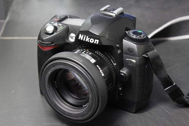 AF NIKKOR 50mm F1.4 with Nikon D70