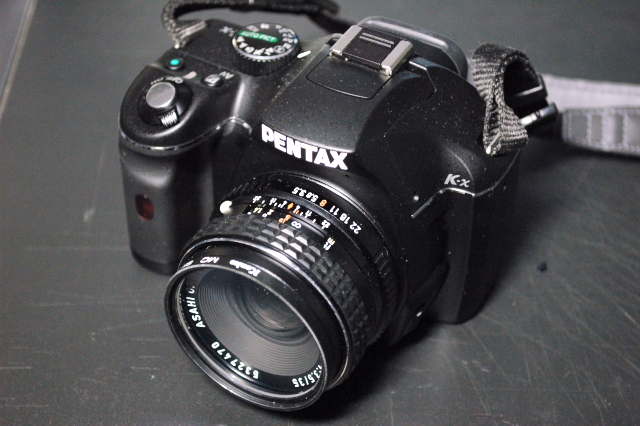 SMC PENTAX 35mm F3.5 with K-x