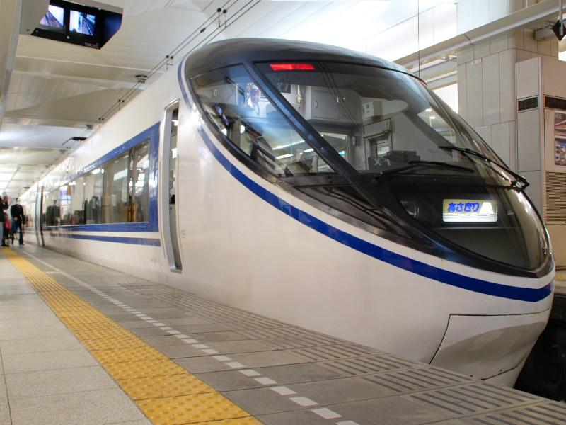 熱海旅行と小田急20000形「RSE」とJR東海371系電車