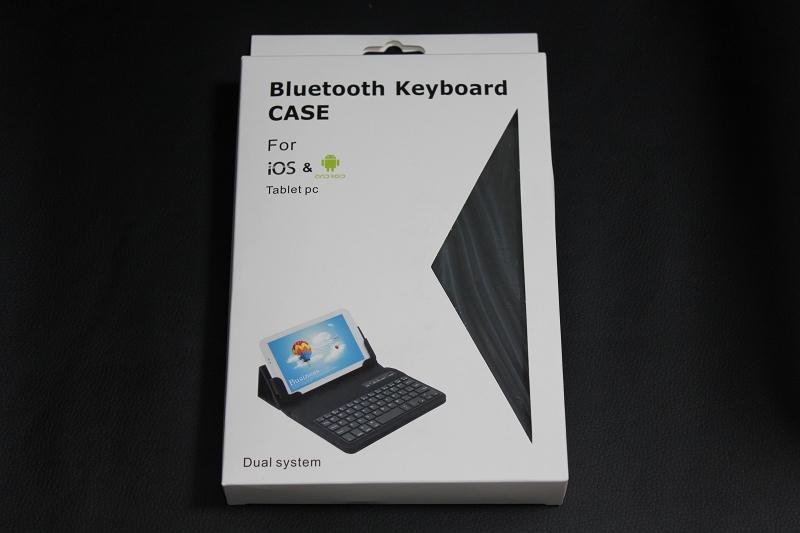 """自由に動くキーボード付レザースタンドケース for 7""""タブレット with ASUS MeMOPad HD7"""