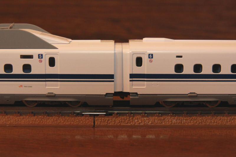 TOMIX JR N700-2000系を7両編成運用